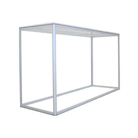 Large Rectangular Fabric Counter Frame (Non-Backlit)