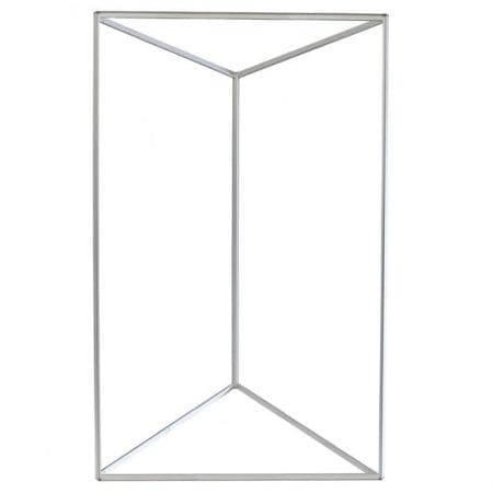 Triangle Trade Show Tower - Large Frame