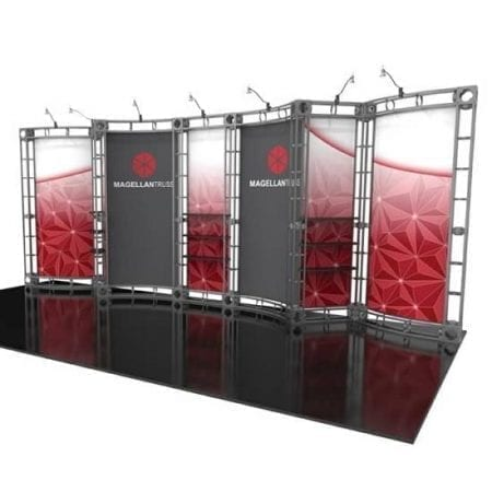 10' x 20' Orbital Truss Display - Magellan