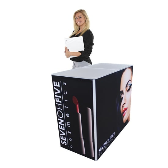 Medium Rectangular Fabric Counter (Non-Backlit)