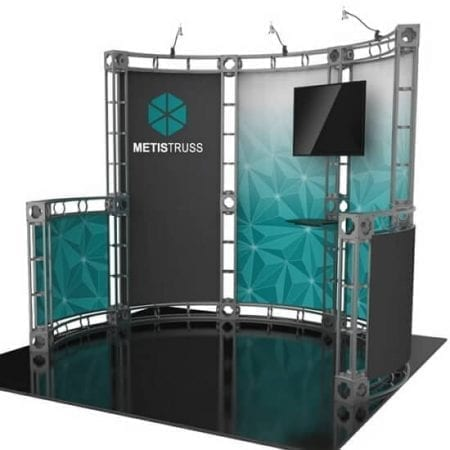 metis10' x 10' Truss Display - Metis