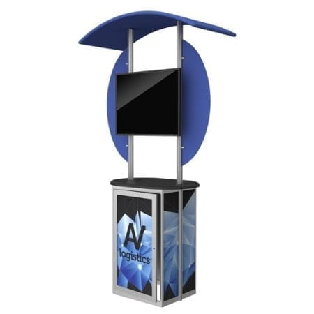 Modular Display Kiosk C