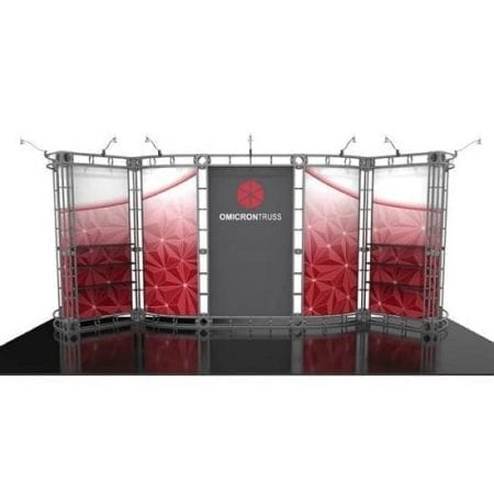 10' x 20' Orbital Truss Display - Omicron