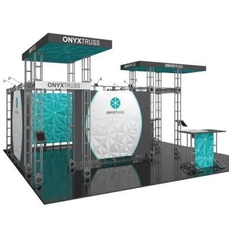 20' x 20' Orbital Truss Display - Onyx