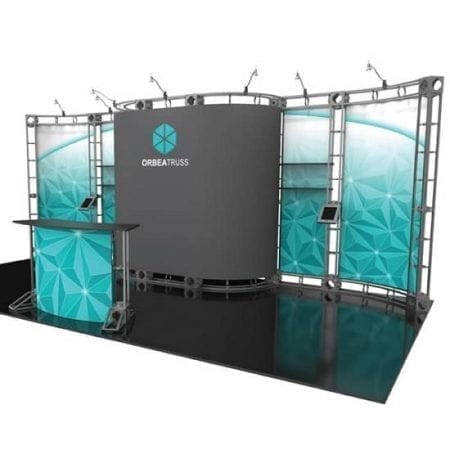 10' x 20' Orbital Truss Display - Orbea