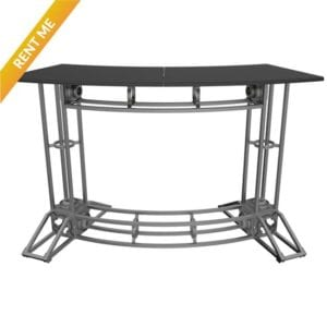 Truss Rental Orbital Curved Counter