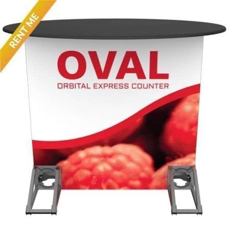 Orbital Rental Counter - Oval