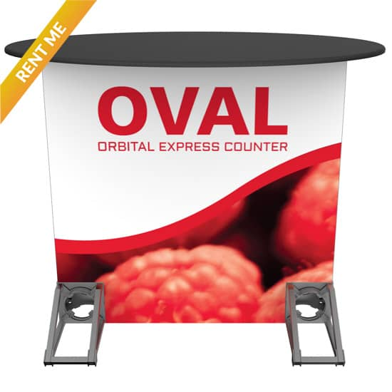 Orbital Rental Counter - Oval