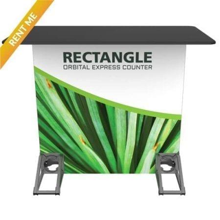 Orbital Rental Counter - Rectangle