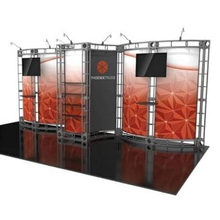 10' x 20' Orbital Truss Display - Phoenix