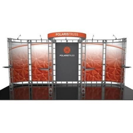 10' x 20' Orbital Truss Display - Polaris