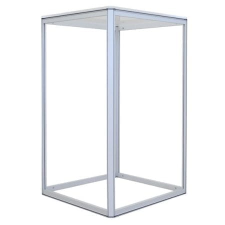 Small, 2' x 2' Rectangular Fabric Counter Frame (Non-Backlit)