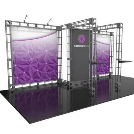 10 X20 Saturn Truss Trade Show Display Booth Rent Or