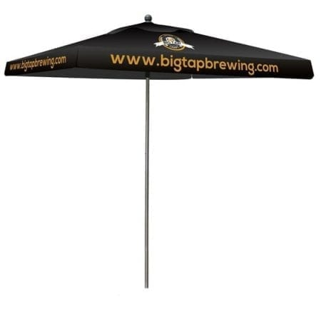 Outdoor Displays Square Full Color Print Umbrella No Base