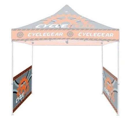 Steel Canopy Tents Half Wall