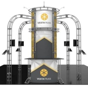 20' x 20' Orbital Truss Display - Vesta