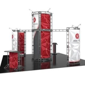 20' x 20' Orbital Truss Display - Zenit
