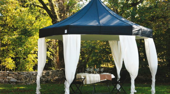 V3 Hexagonal Super Duty Canopy Tent & 17u0027 Hexagonal V3 Super Duty Canopy Tents | Philadelphia ...