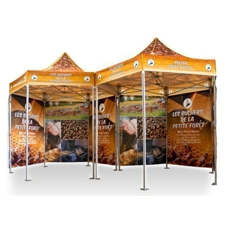 10' Hexagonal V3 Canopy Tent