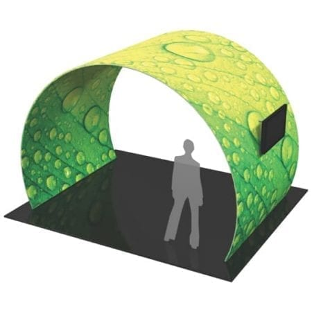 12' Fabric Exhibit Arch
