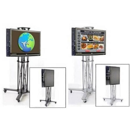 EZ Fold Duo Wheeled TV Stands