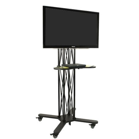 EZ Fold Wheeled TV Stands