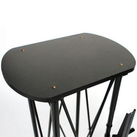 EZ Fold Wheeled TV Stand - Shelf