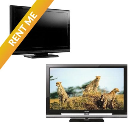 "26"" & 42"" LCD Rental Monitors"