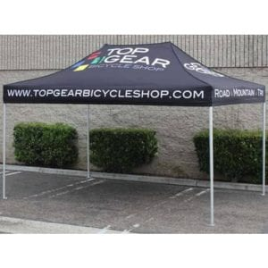 10' x 15' Heavy Duty Aluminum Pop Up Tent