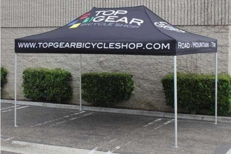 10'x15' Super Duty Pop Up Tent