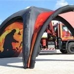 13′ x 13′ Inflatable Canopy Tent