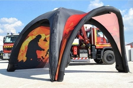 13' x 13' Inflatable Canopy Tent