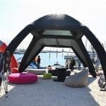 17×17 Inflatable Canopy Tent