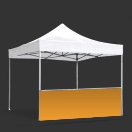 Premium Canopy Tent Railskirt Solid Color Fabric