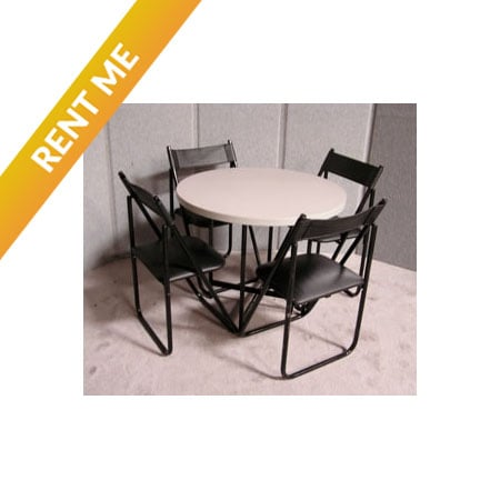 Standard Rental Table w/ Chairs