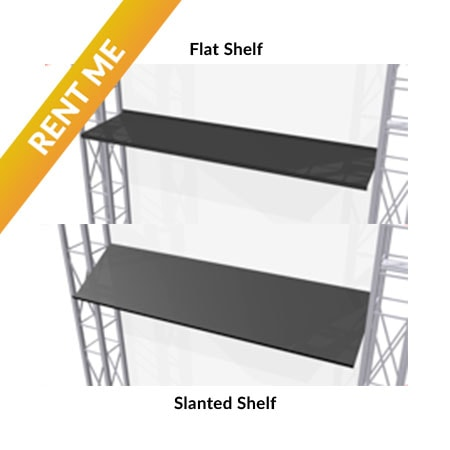 Rental Straight Shelves