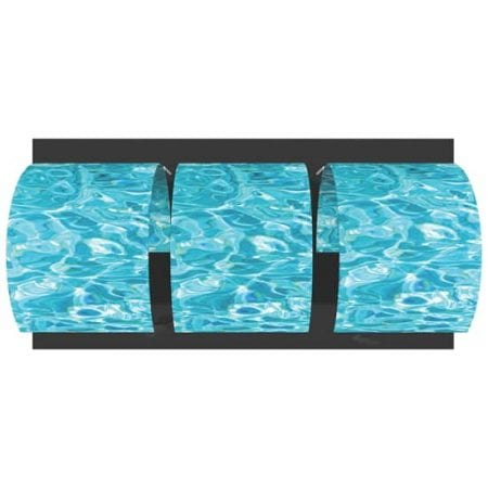10' Fabric Exhibit Surf Wall Divider