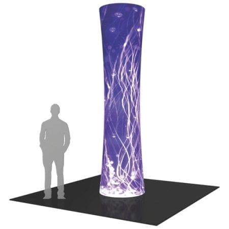 12ft Tower Display - Round
