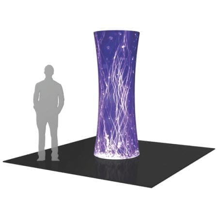 8ft Tower Display - Round