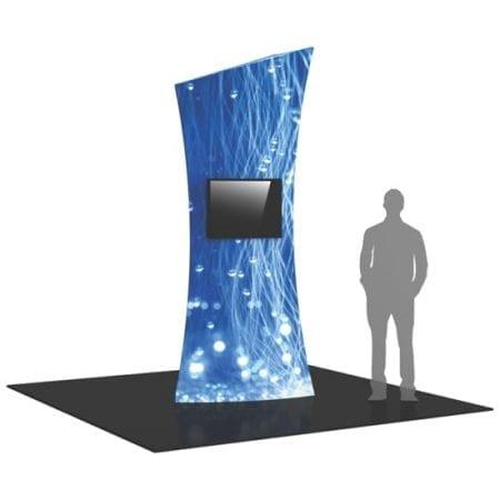 10' Tower Display - Shield