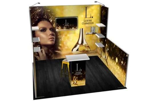 Trade Show Solutions Panoramic Display