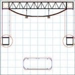 10′ x 10′ Turnkey Truss Rental – Opal