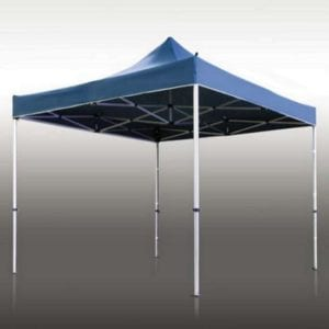 10' x 10' Heavy Duty Steel Custom Pop Up Tent
