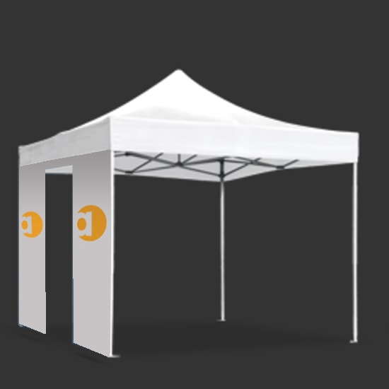 Custom Pop Up Tent Wall w/ Door