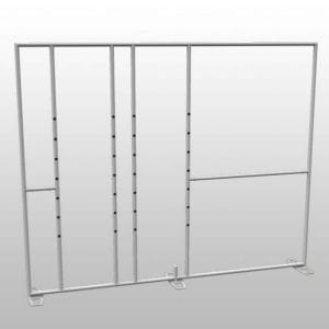 10' X 10' Magnetic Display System