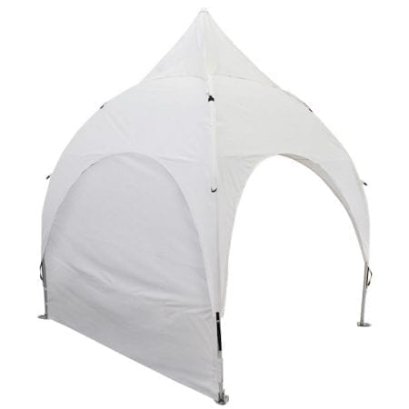 10' x 10' Giant Outdoor Canopy Tent - Unprinted w/ Standard Zipper