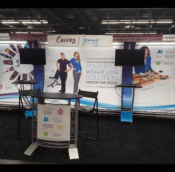 10' x 20' Truss Display Rental, Anaheim,CA