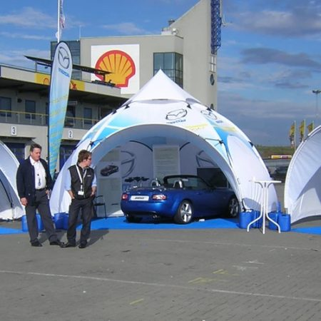 Dome Canopy Tent - Custom Printed