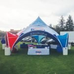 Dome Canopy Tent – Custom Printed