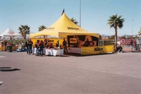 20' x 20' Heavy Duty Canopy Tent - Full Digital Print